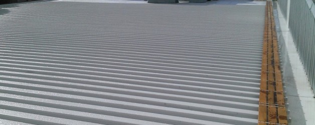 Factory roof in KlipLok 700HS, 400 square metres with 28 metres of Box Gutter