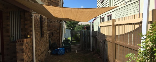 SHADE SAIL/SAIL INSTALLATIONS, WYNNUM/MORETON BAY